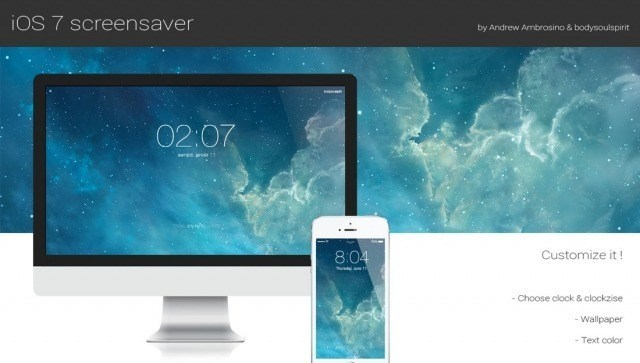 Fliqlo, the flip clock screen saver