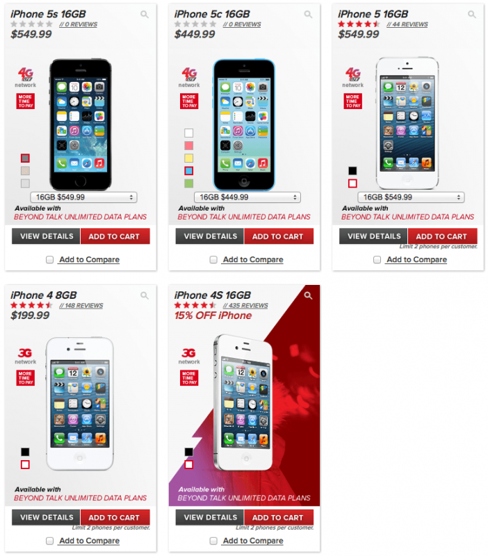 virgin mobile iphone 5c mobile begins selling iphone 5s and iphone 5c at a 16421