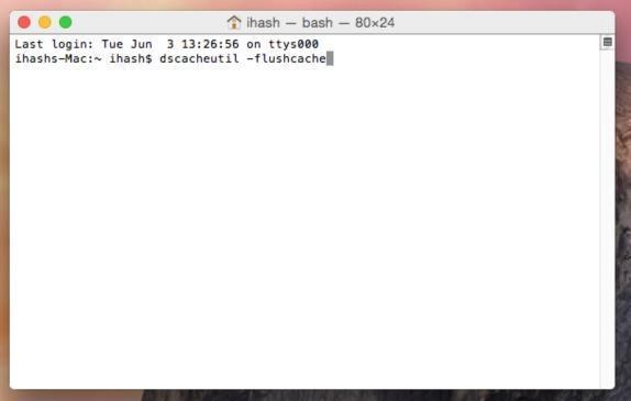 Clear dns cache in mac osx 1010 yosemite ccuart Choice Image