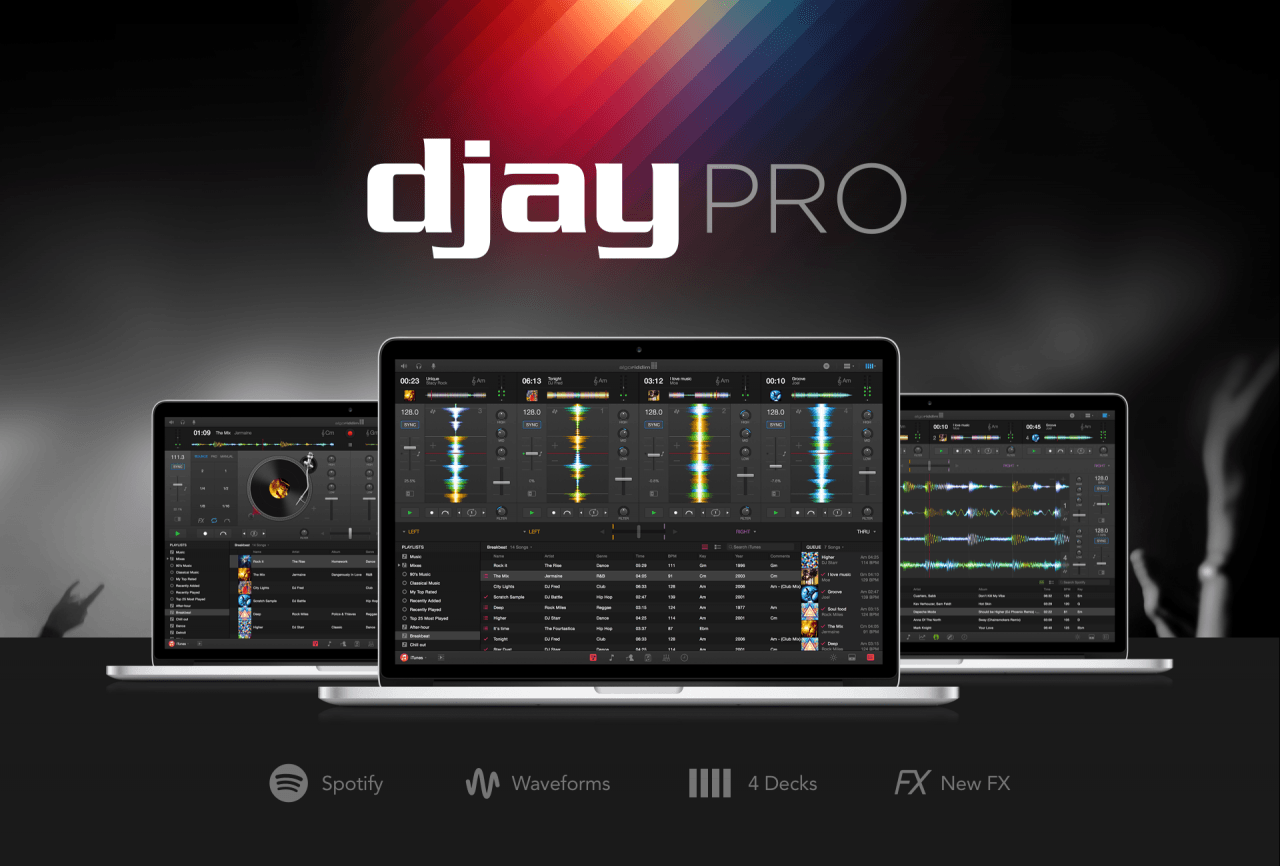 Algoriddim Releases Djay Pro For Mac Ihash