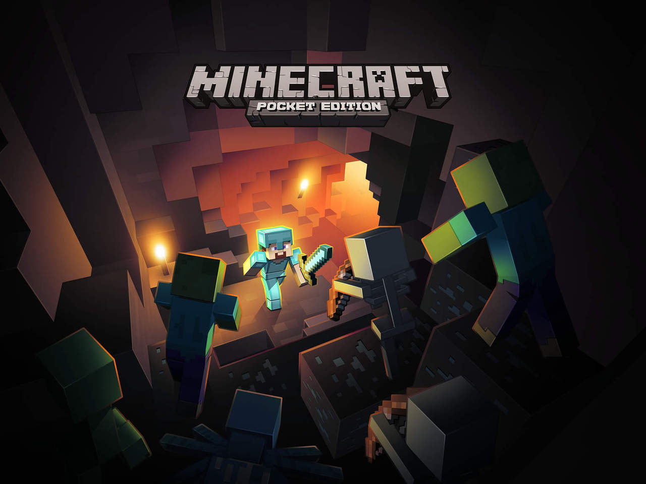 Minecraft pocket edition gets multiple language support for Mine craft pocket addition
