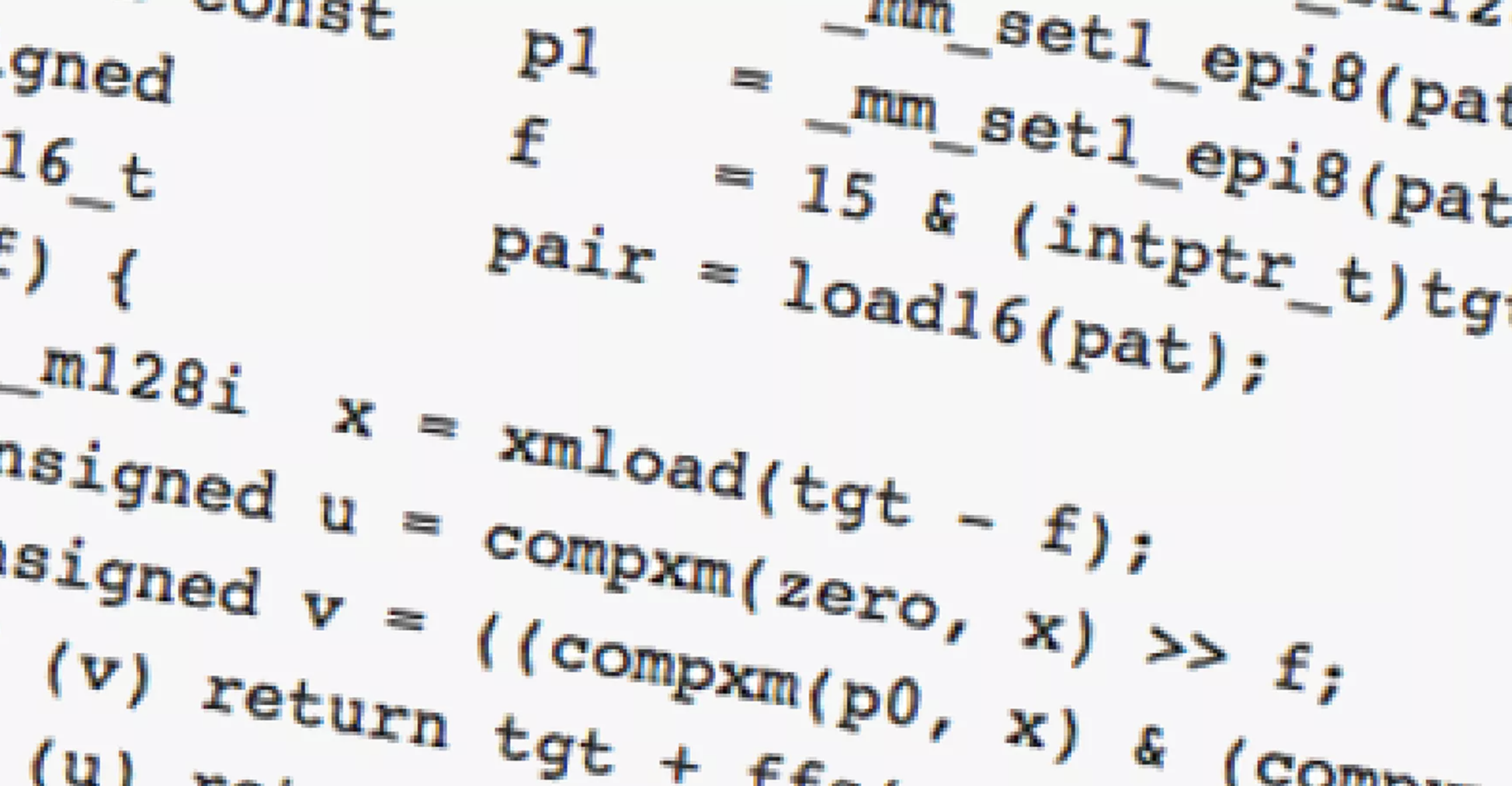 How Fast Can You Grep?